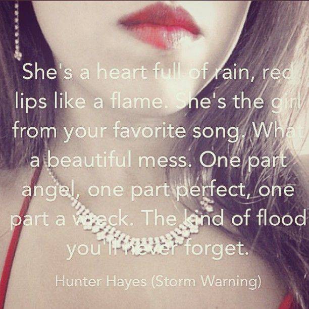 Hunter Hayes Storm Warning Lyrics Hunter Hayes