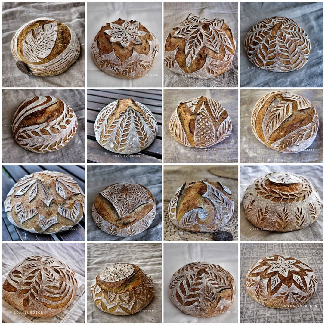 Photo of Decorated breads