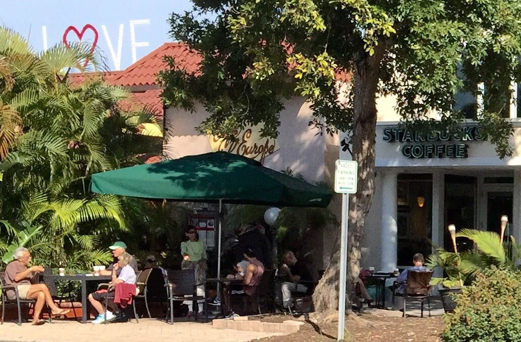 Sarasota Fl coffee shop