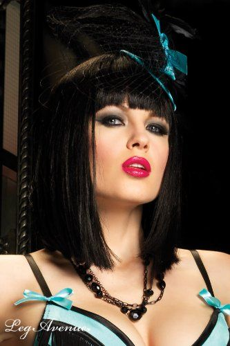 """Leg Avenue - """"Tierisches Anziehungs"""" - Burlesque - Blau - One Size - A1686 ab 15,99€ direkt kaufen oder zu deinem Wunschpreis bei Amazon."""