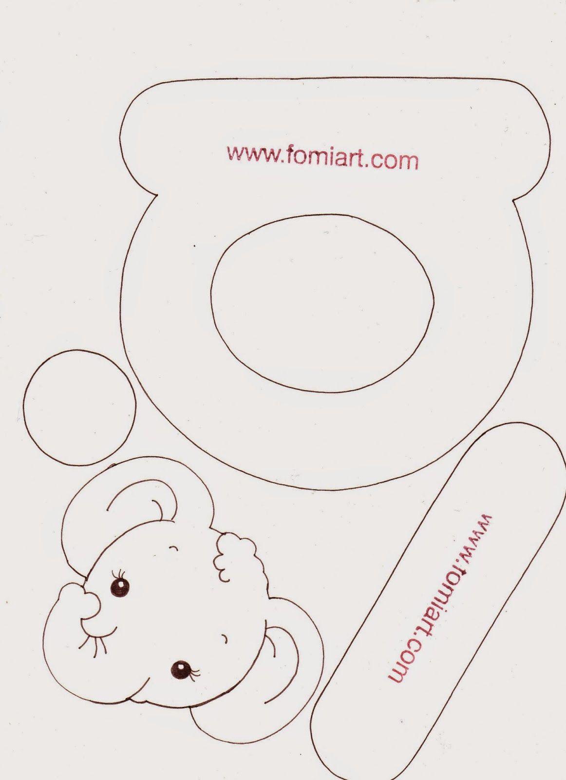 Fomiart: Patrones gratis Vocales con Animalitos | accesorios crochet ...