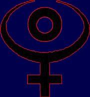 Hades symbol   Sun conjunct pluto, Astrology, Hades symbol