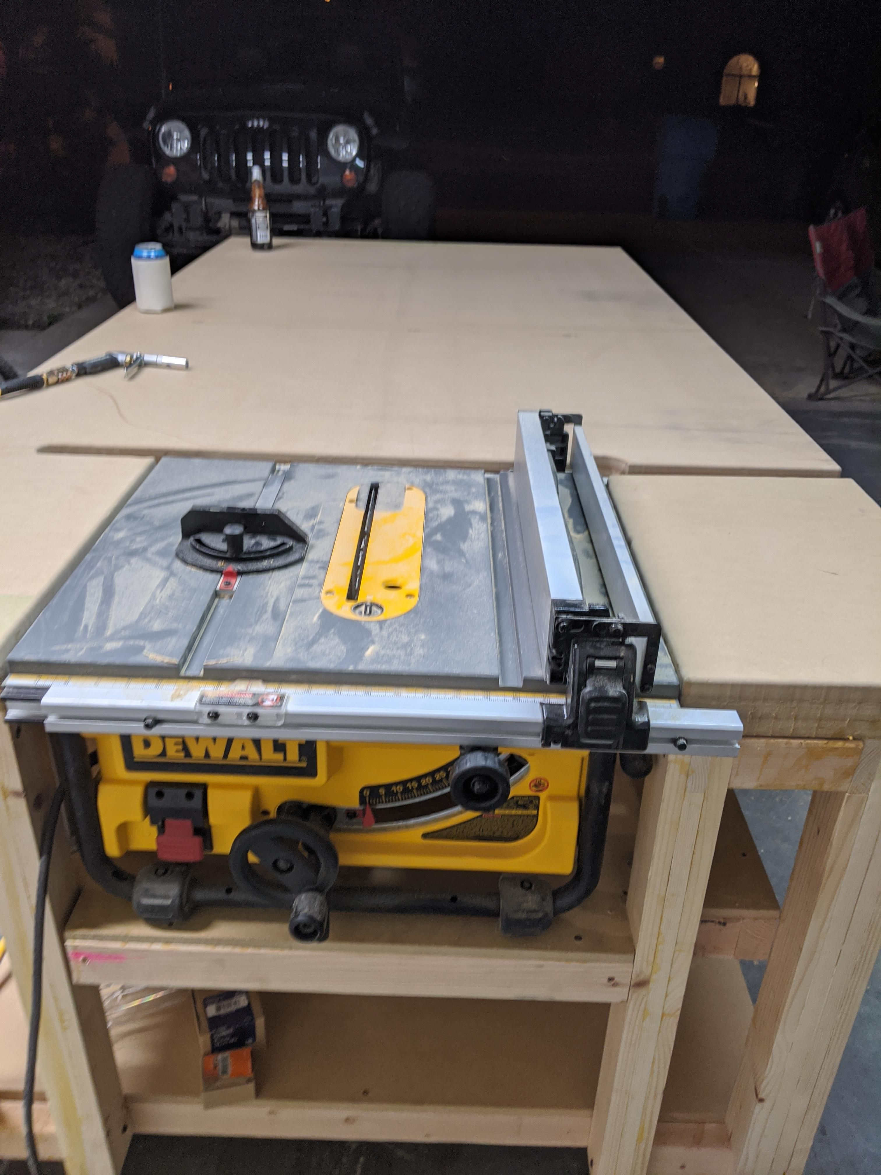 Almost Finished My Table Saw Outfeed Assembly Table Https Ift Tt 38le8ov In 2020 Assembly Table Woodworking Joinery Woodworking