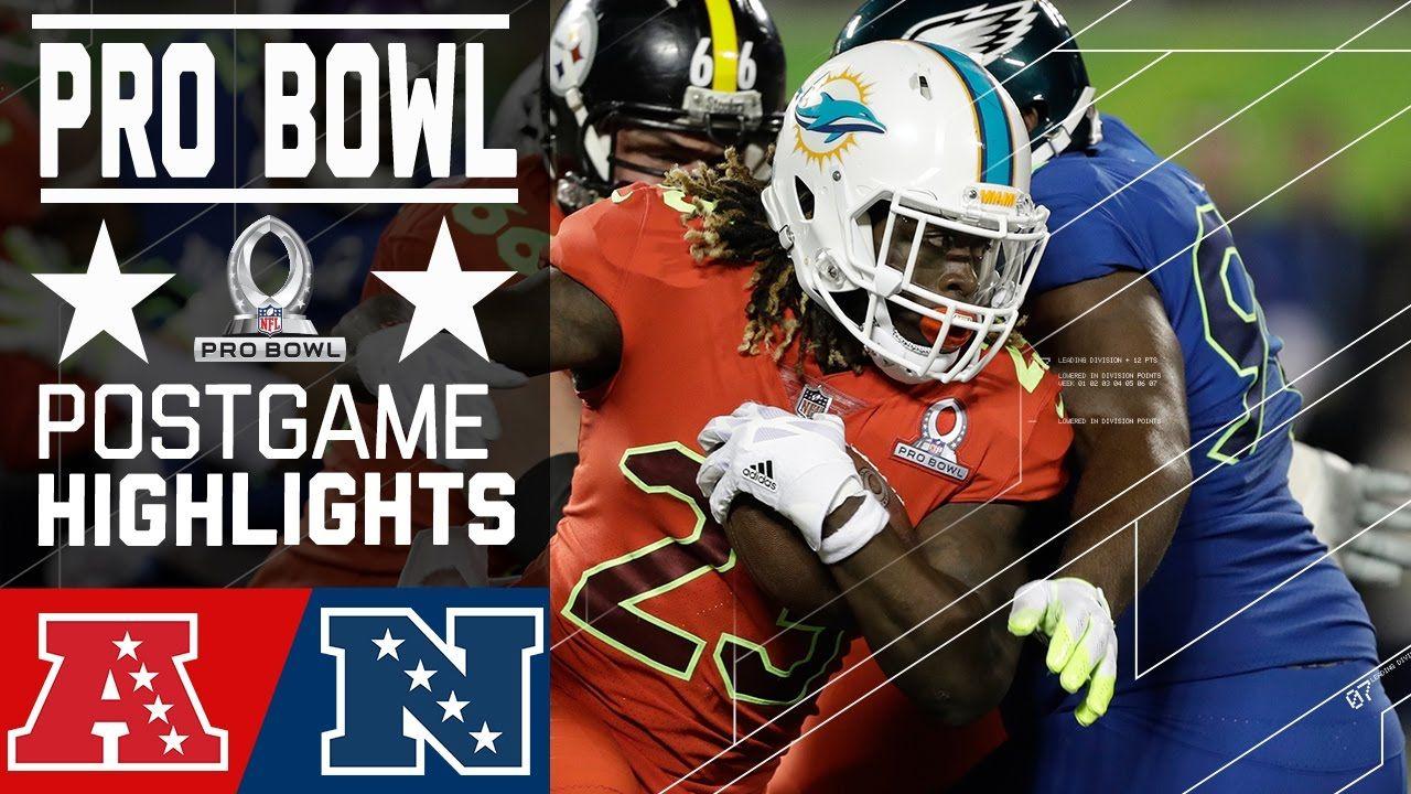 AFC vs. NFC 2017 NFL Pro Bowl Game Highlights Nfl pro
