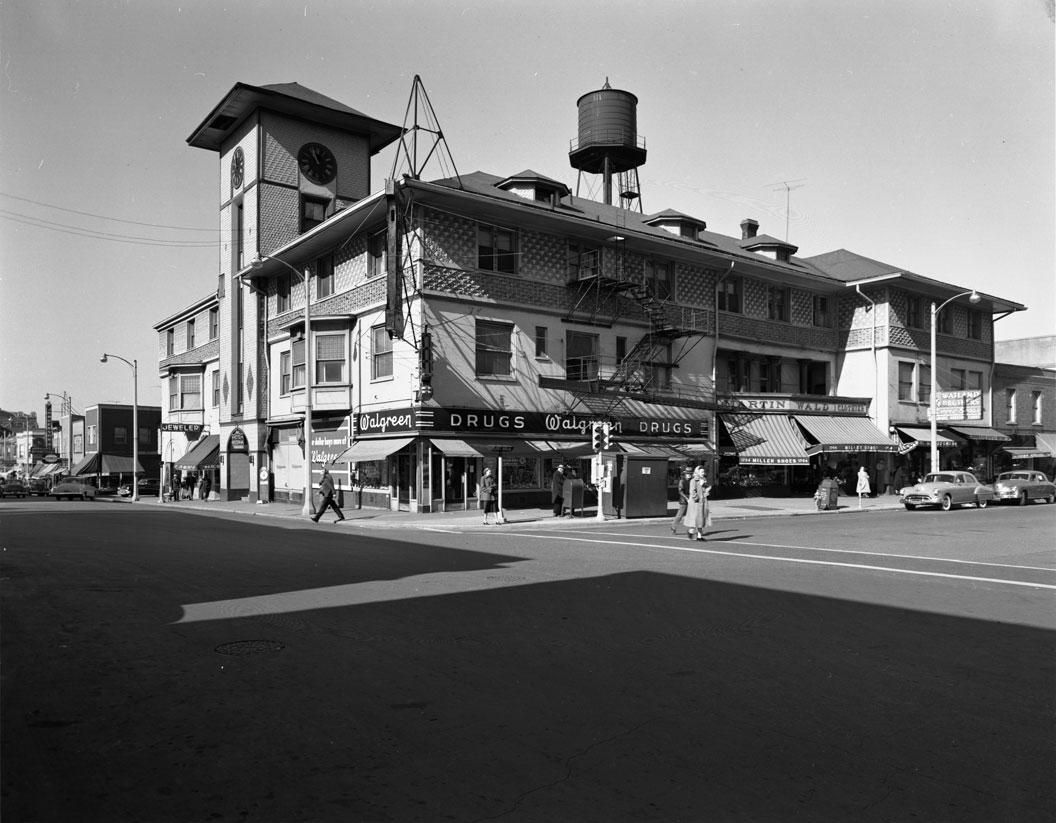 The Victoria Hotel In Chicago Heights Illinois 1893 Adler Sullivan Destroyed By Fire 1961 Photo Richard Nickel