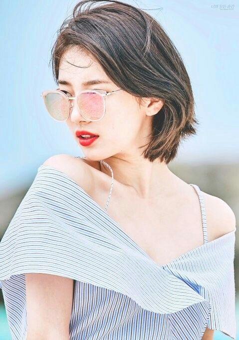 Suzy x Carin | Taeyeon short hair, Short hair styles ...