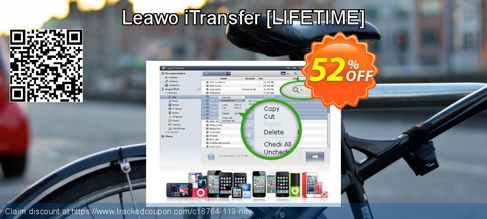 Leawo iTransfer Coupon on Xmas offer December 2019 Leawo iTransfer Coupon on Xmas offer December 2019