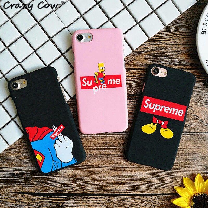 coque iphone 6 supreme simpson