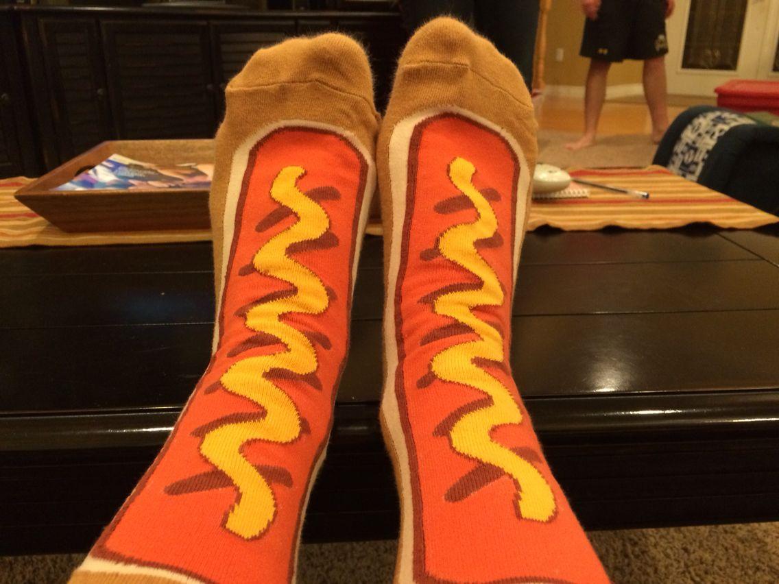 Hot dog socks!!!