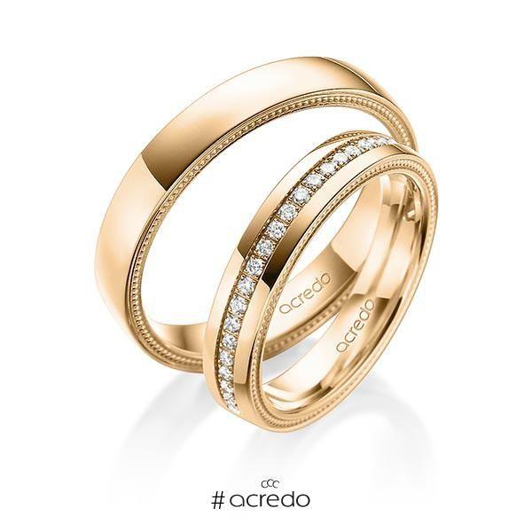 e040cc6d0bd6 Alianzas de oro con diamantes  alianzas  boda