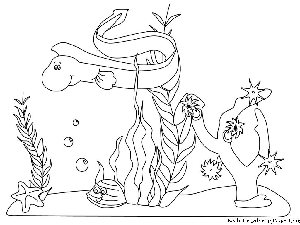Ocean Life Coloring Pages | Coloring Pages | Ocean ...