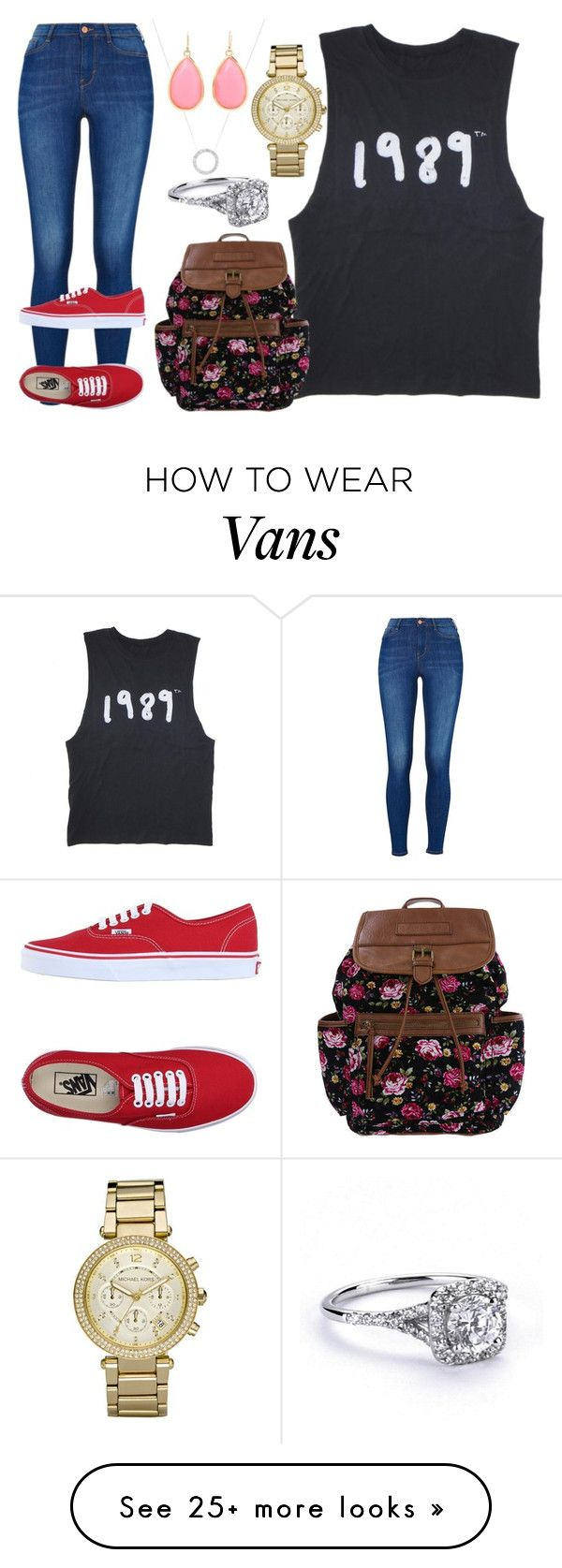 """""""You gotta go and get Angry at all of my honesty.Justin Bieber Lyrics"""" by sageetharabart on Polyvore featuring Michael Kors, Kate Spade, Vans and SunshineSageethaRabartKennady03"""