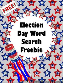FREE Absentee voting, caucus, debate, delegate. This election week, have your students learn about and find Election Day words.Common Core State Standards4.L.6 Acquire and use accurately grade-appropriate general  academic and domain-specific words and phrases, including those that signal precise actions, emotions, or states of being (e.g.,quizzed, whined, stammered ) and that are basic to a particular topic (e.g.,wildlife, conservation, and endangered when discussing animal preservati...