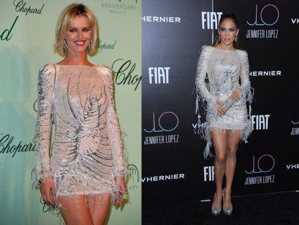Eva Herzigova vs J.Lo in Emilio Pucci