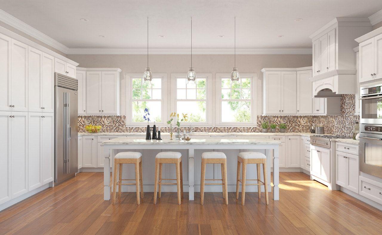 Savannah White Custom Kitchen Cabinets Assembled Kitchen Cabinets Online Kitchen Cabinets