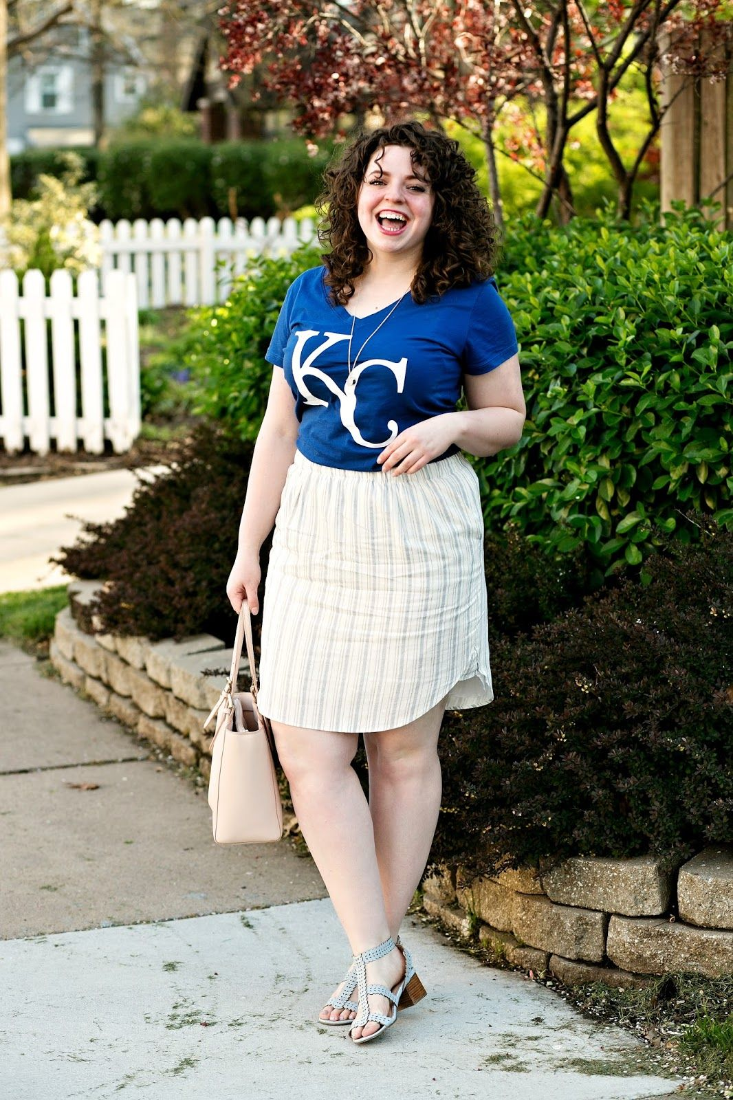 Plus Size Baseball Game Outfit