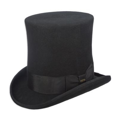 6b19bf0bd0a2fb Scala Small Men's Victorian Top Hat In Black in 2019 | Products ...