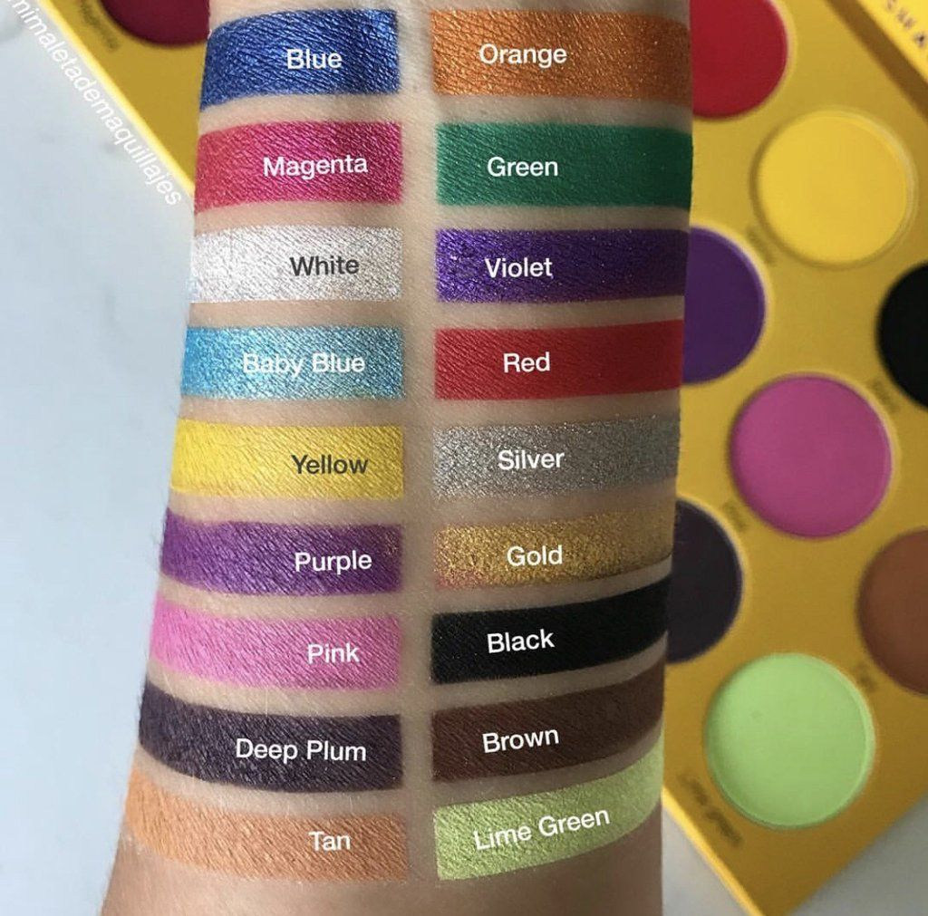 Box Of Crayons Palette Makeup box, Eyeshadow, Crayon box