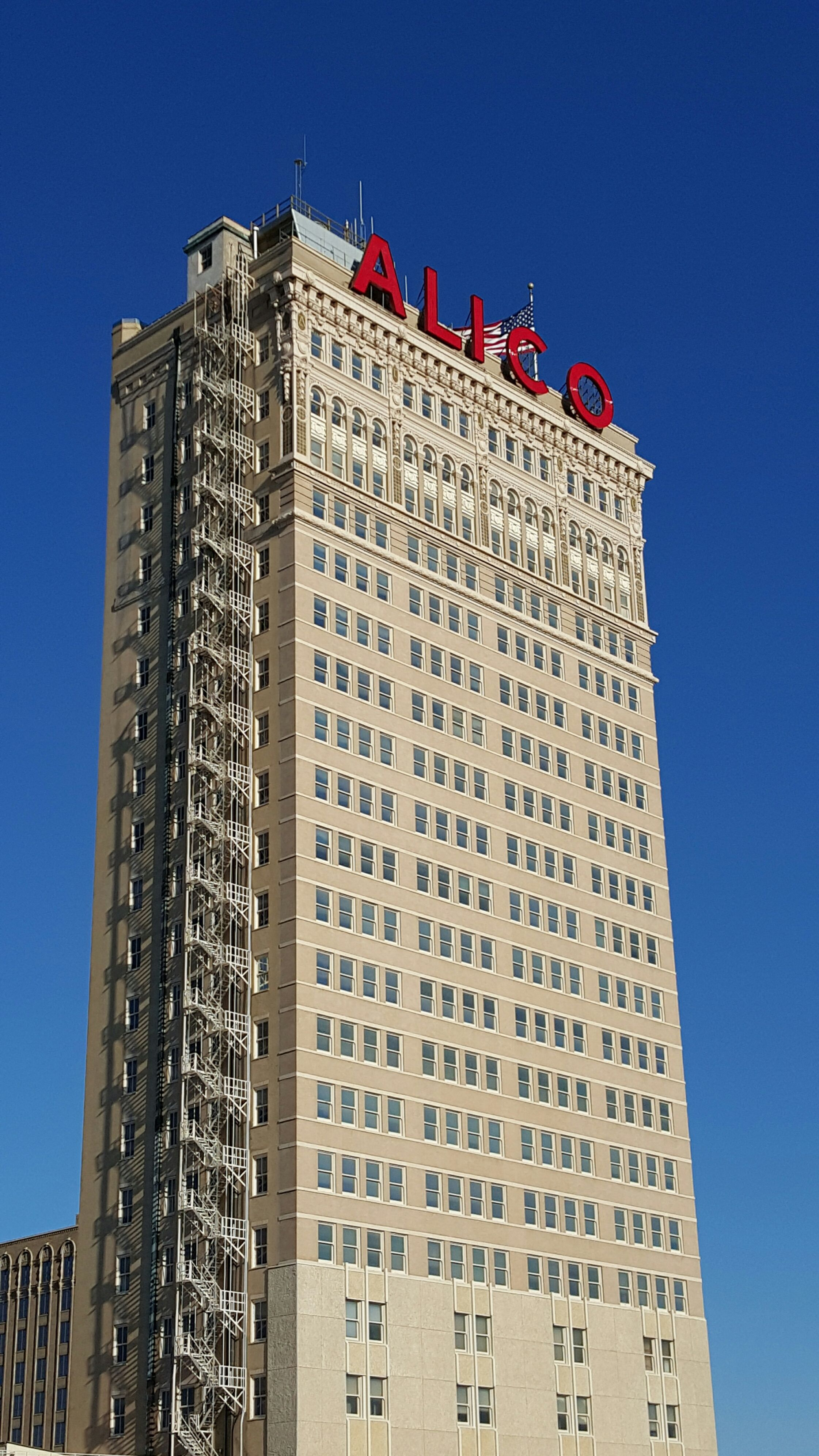 The Veritable Alico Building In Waco Texas Was Built In 1910 And
