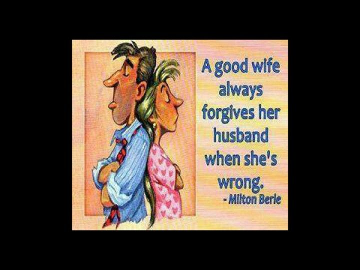 how to be a good wife funny