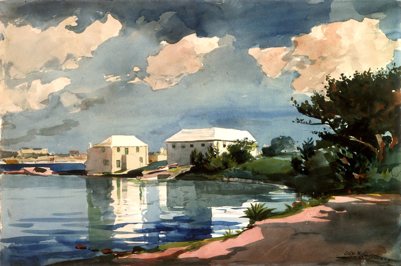 Watercolor art history - Art History News Winslow Homer In The National Gallery Of Art