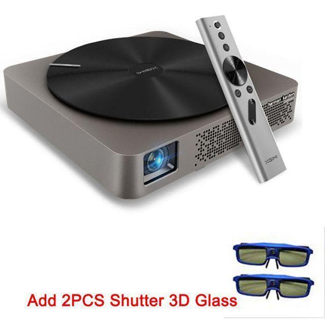 4K Projector 3D intelligent mini portable led dlp FULL HD
