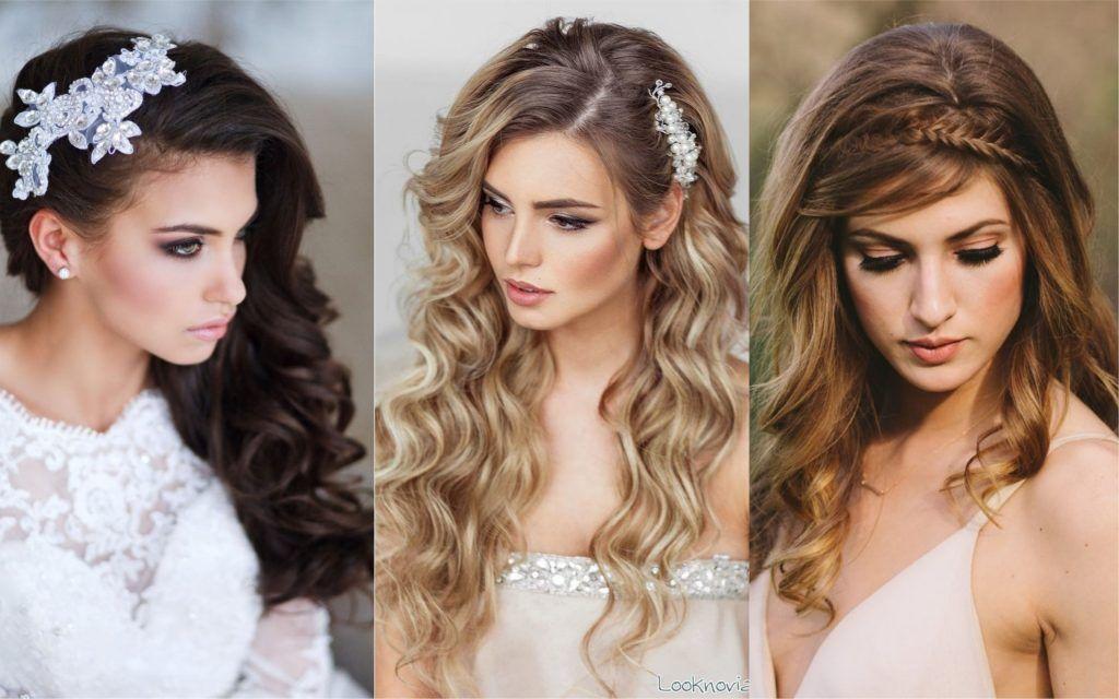 Peinados Para Bodas 77 Hermosas Ideas Para Novias E Invitadas Fotos Peinados Peinados Para Boda Peinados Para Cabello Largo