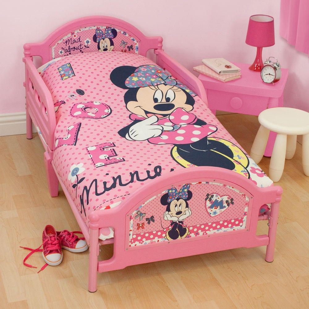 55 Mickey Mouse Comforter Set For Toddler Bed