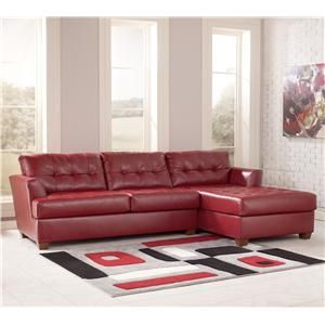 Dixon DuraBlend - Scarlett Three Seat Sectional Sofa with Right Facing Chaise by Signature Design by Ashley at Marlo Furniture : marlo furniture sectional sofa - Sectionals, Sofas & Couches