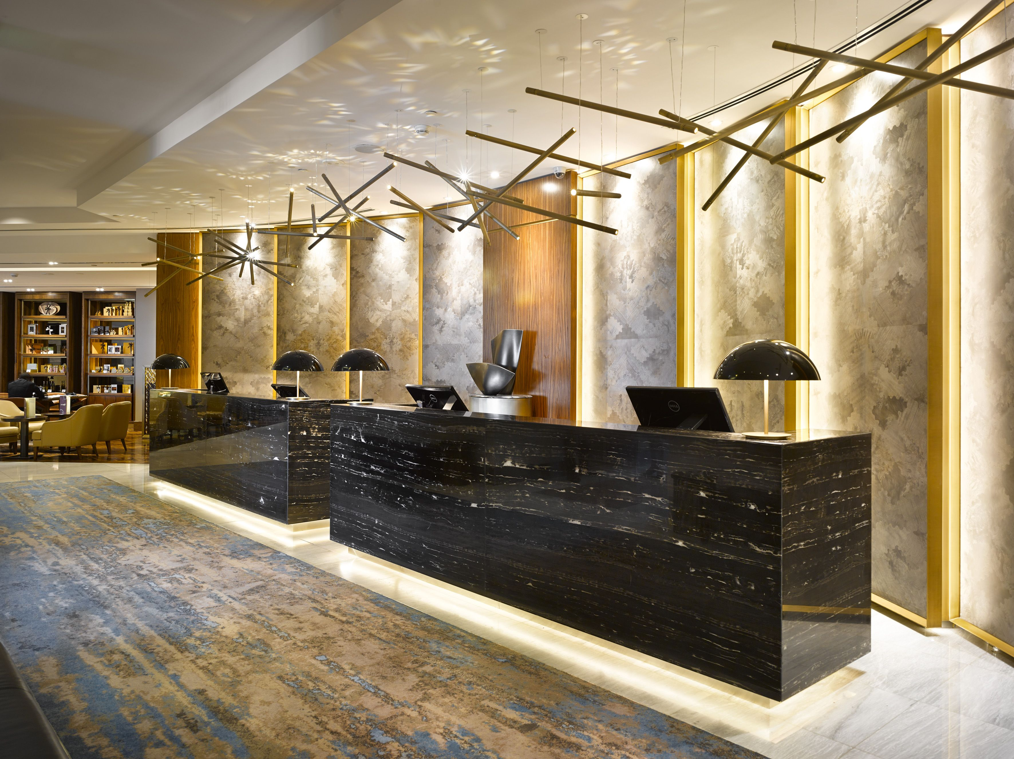 desk lighting solutions. The Lighting Solutions For Reception Desk And Reading Lounge Were Created In\u2026 S