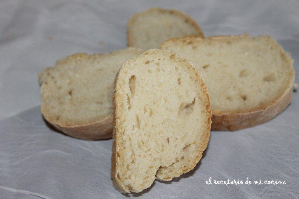Pan para canapes o bocadillos