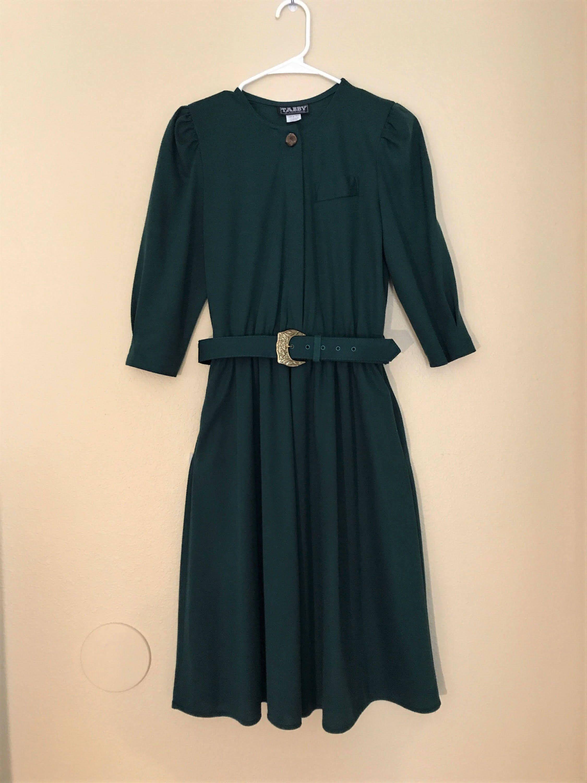 Womenus us emerald green party dress sylisting