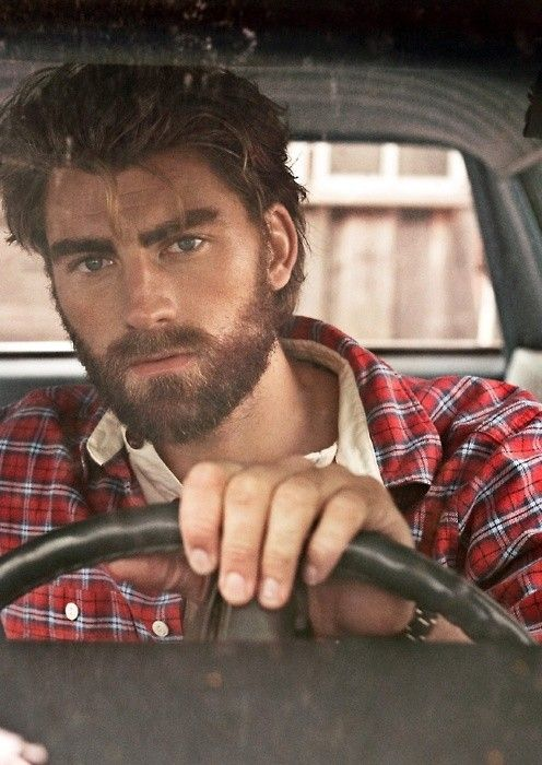 Marcus Mens Fashion Rugged Rugged Men Bearded Men