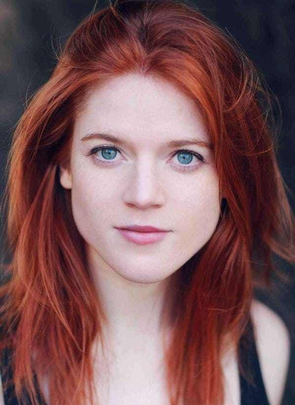 The Most Attractive Redheads Ever Bright Red Hair Rose Leslie Beautiful Redhead