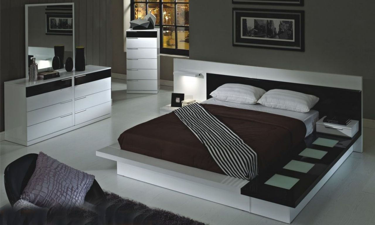 modern white platform bed interior design pinterest white