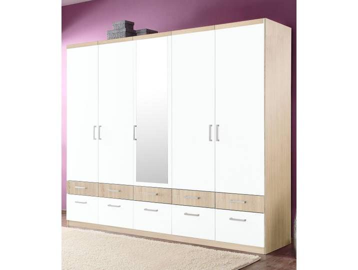 Kleiderschrank Schlafwelt T H 56 193 Cm Beige Locker Storage