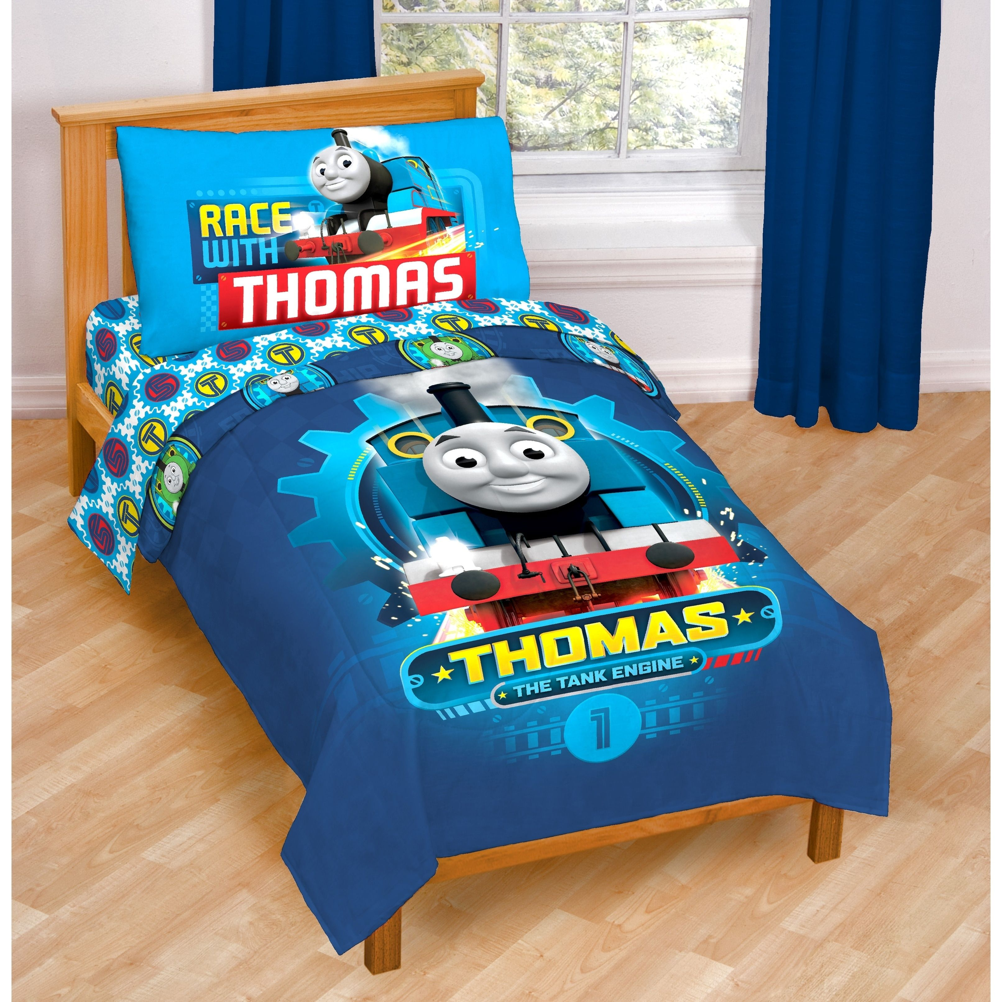 Thomas The Tank Engine Race Friends Toddler 4 Piece Bed In A Bag