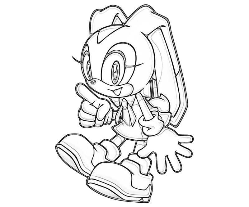 Cream The Rabbit Coloring Pages Great Free Clipart Silhouette Coloring Pages And Drawings That You Can Use Every Coloring Pages Rabbit Colors Free Clip Art