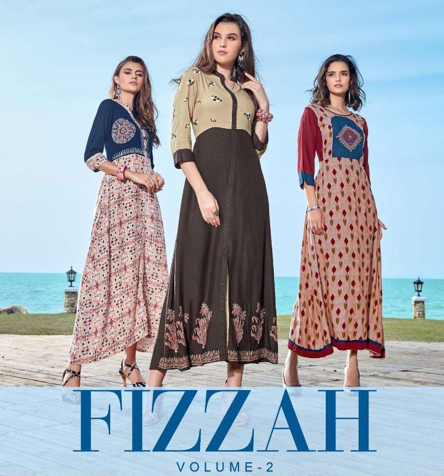 Femi 9 Trends Fizzah Vol 2 14 Kg Rayon Kurtis 10 Pc Set Online Wholesale Clothing Wholesale Clothing Suppliers Wholesale Clothing