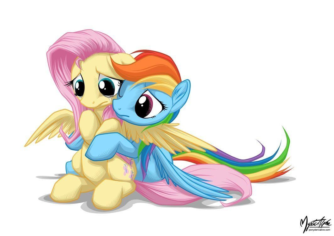 Fluttershy I Have No Friends Rainbow Dash I Ll Be Your Friend