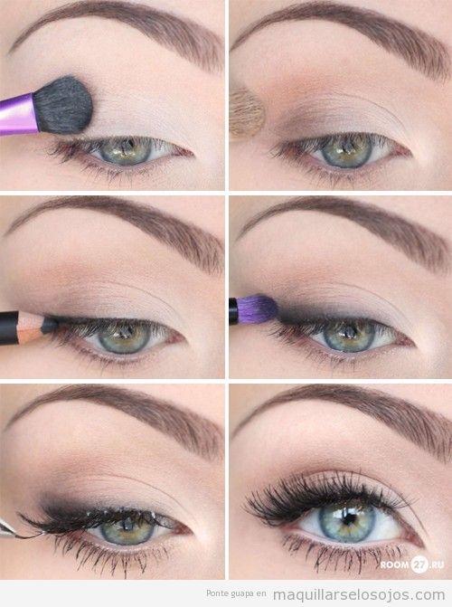 Tutorial Con Fotos Para Aprender Paso A Paso A Hacer Un Maquillaje Natural Tutorial Maquillaje Ojos Maquillaje De Ojos Natural Maquillaje Dia
