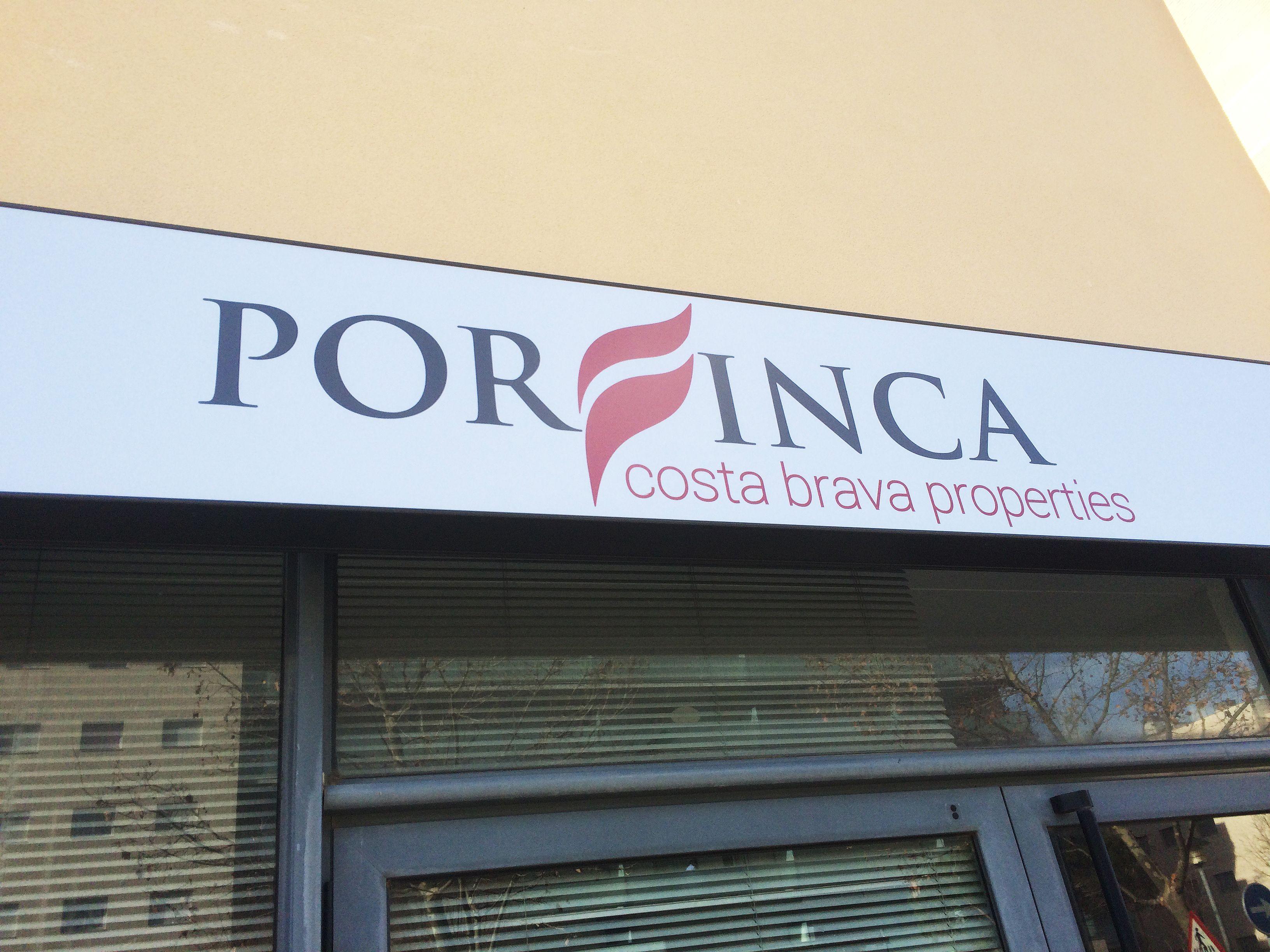 Nova #imatge #corporativa per Porfinca i #retolació del local