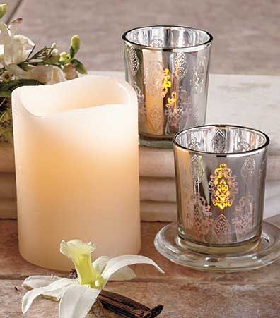 Flameless Candle 5-Pc. Gift Sets