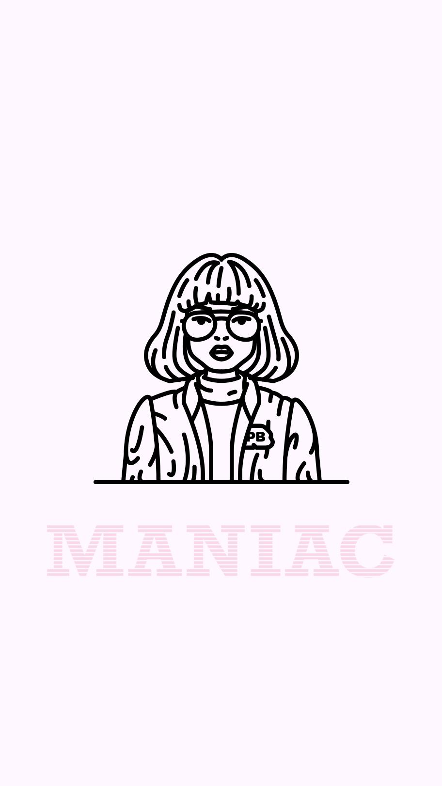 Dr  Azumi Fujita 🚬 Maniac #netflix #illustration #line