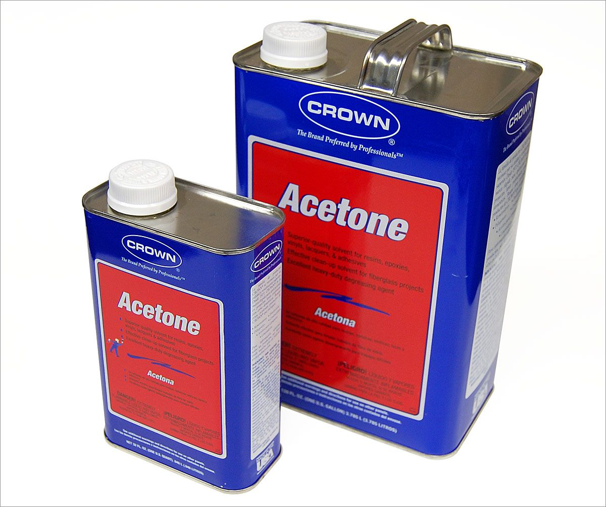Everyday acetone can be used to remove the cloudiness that builds up