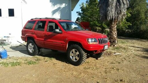 Jeep Grand Cherokee Wj On 32 S With 3 Inch Lift Jeep Grand