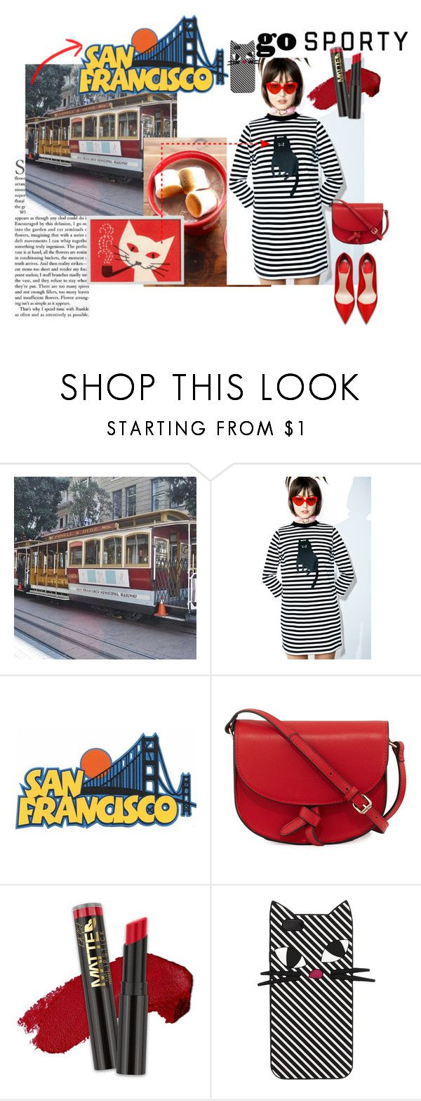 """""""go sporty"""" by sahrish-hossain ❤ liked on Polyvore featuring Lazy Oaf, KC Jagger and Lulu Guinness"""