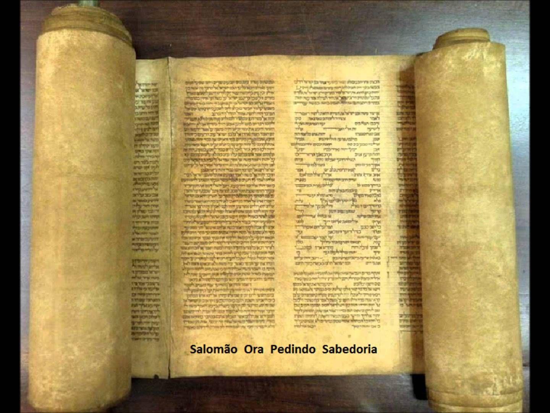 Salomão ora pedindo sabedoria  -   A Biblia Narrada por Cid Moreira (Vel...