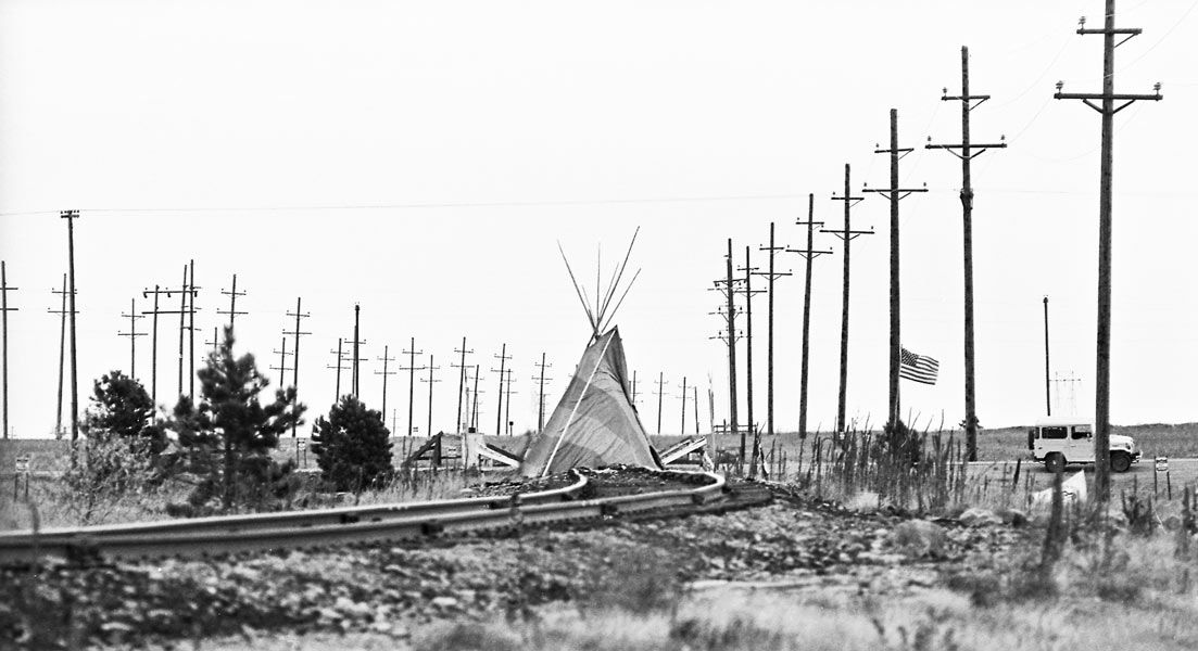 Teepee In Protest Across The Railroad Tracks At Rocky Flats In Boulder Co Bouldering Boulder Colorado Rocky
