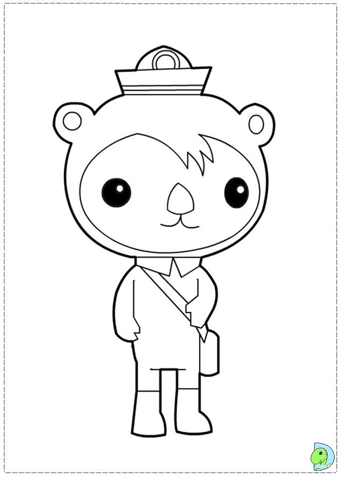 Get This Octonauts Coloring Pages Free 05704 Coloring Pages Octonauts Octonauts Characters